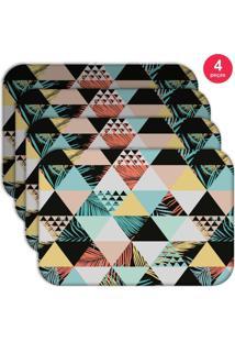 Jogo Americano Love Decor Wevans Exotic Kit Com 4 Pçs