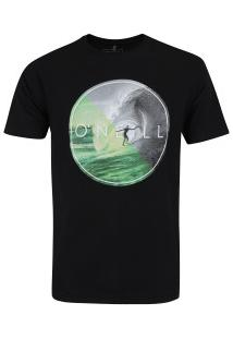 Camiseta O'Neill Opened Arm - Masculina - Preto