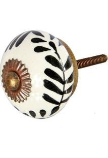 Puxador De Porta E Gaveta | Cerâmica