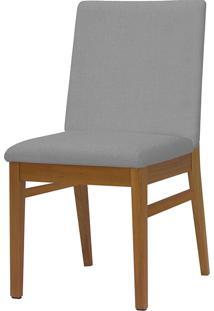 Cadeira Com Assento Estofado 6203-Monte Carlo - Pinhao