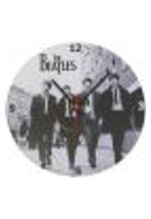 Relógio Em Vinil Beatles