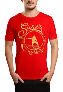Camiseta Hshop Super Rider - Vermelho