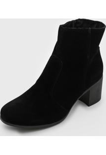 Bota Dafiti Shoes Lisa Preta