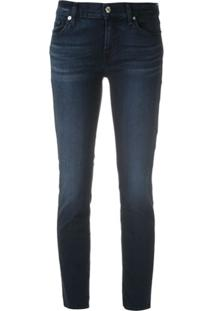 7 For All Mankind Calça Jeans Roxanne Skinny - Azul