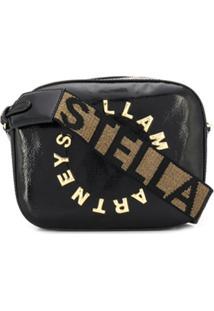 Stella Mccartney Bolsa Stella Com Logo - Preto