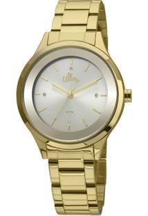 1b9af8e7597 ... Relógio Allora Segredos Do Oriente - Feminino-Dourado+Branco