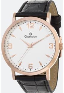 Kit Relógio Feminino Champion Cn20668E Analógico + Conjunto Semijóia