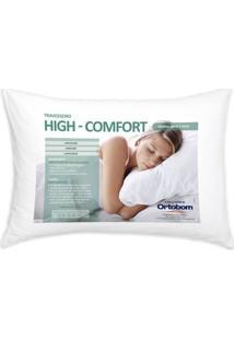 Travesseiro Hi Confort 140 Fios Cor Branco - 43604 Sun House
