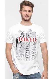 Camiseta Burn Tokyo - Masculino