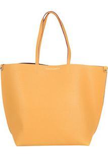 Bolsa Loucos & Santos Shopper Floater Soft Feminina - Feminino-Amarelo