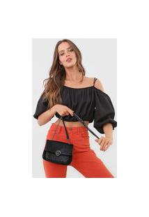 Bolsa Desigual Across Body Bag Melody Preta