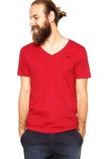 Camiseta Sommer Slim Vermelha