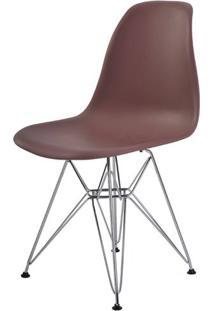 Cadeira Eames Eiffel Pp Cafe Base Cromada - 44172 Sun House