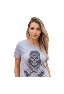 Camiseta Feminina Mirat Band Rock Mescla