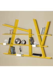 Prateleira Decorativa Turner 325 Amarelo - Maxima