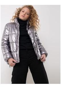 Jaqueta Metalizada Matelassê