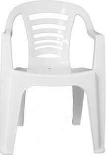 Cadeira Em Polipropileno Natal 79,5X51Cm Branca