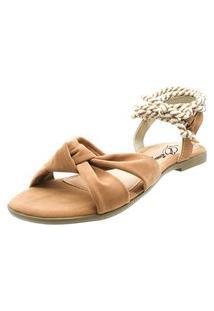 Sandália Romântica Calçados Caramelo