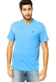 Camiseta Nautica Clean Azul