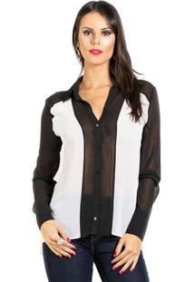Camisa Preto E Branco Iódice