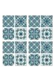 Adesivos De Azulejos - 16 Peças - Mod. 46 Pequeno