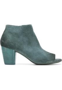 Marsèll Ankle Boot De Camurça 'Bo Sandalo' - Azul