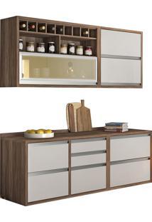 Cozinha Baronesa 4 Peças Branco Nesher
