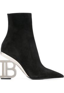 Balmain Ankle Boot Nicole - Preto