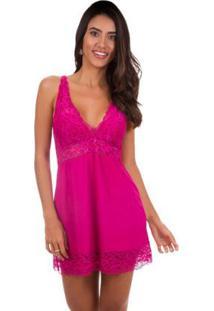 Camisola Curta Regata Inspirate - Feminino-Pink
