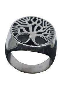 Anel Kodo Acessórios Árvore Da Vida Prata