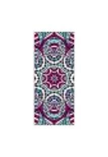 Adesivo Decorativo De Porta - Mandala - 291Cnpt Auto Colante