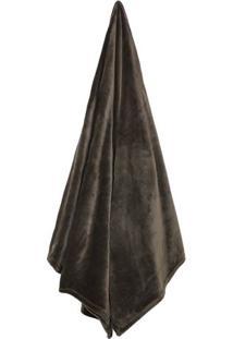 Cobertor Velour Neo Em Microfibra King Size- Marrom-Camesa