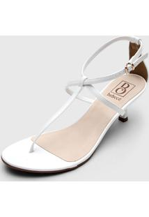 Sandã¡Lia Bebec㪠Tiras Branca - Branco - Feminino - Dafiti