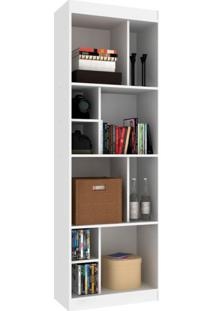 Estante Home Office Branca 60 Cm