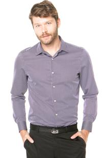 Camisa Perry Ellis Reta Multicolorida
