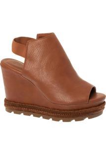 Sandal Boot Wisk Com Detalhe Em Corda