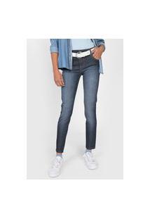 Calça Jeans Colcci Skinny Pespontos Azul
