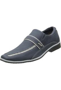 Sapato Venetto Social - Masculino-Azul