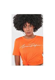 Camiseta Lança Perfume Logo Laranja