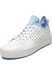 Tênis Michael Kors Ace Lace Up Branco/Azul