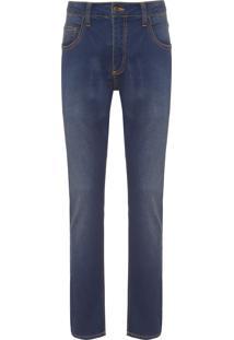 Calça Masculina Jeans Knit - Azul