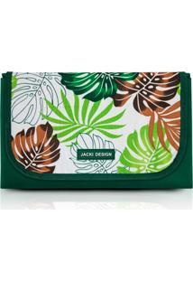 Tapete Para Piquenique Impermeável Jacki Design Poliéster Dobrável Verde