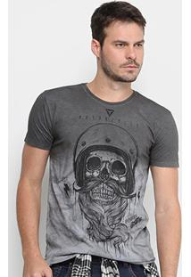 Camiseta Opera Rock Caveira Masculina - Masculino