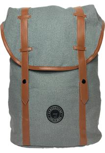 Mochila La Moustache Backpack Grey Cinza