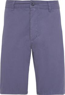 Bermuda Masculina Casual Alfaiataria - Azul