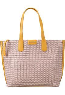 Bolsa Shopping Bag Ana Hickmann Amarelo