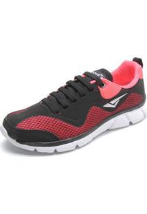 5dbf89b103 Dafiti Sports. Calçado Tênis Digital Feminino Coral Preto Bouts ...