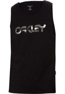 fe12ed791c ... Regata Oakley Mark Ii Tank Masculina - Masculino-Preto