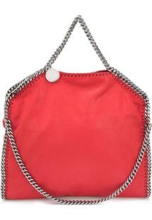Stella Mccartney Large Falabella Tote Bag - Vermelho