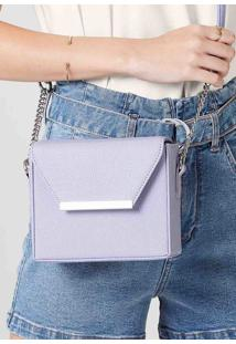 Bolsa Box Feminina Em Material Sintético